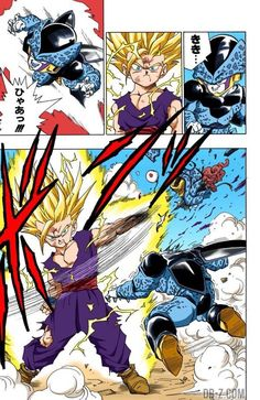 Super Saiyan 2 Gohan Dragon Ball Z Transformation Dragon Ball Gt, Dbz Manga, Manga Dragon, Anime Echii, Anime Comics, Dragonball Super Manga, Cell Jr, Ssj2, Akira