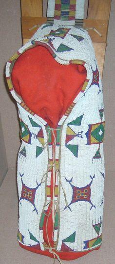 Lakota Beaded Cradle
