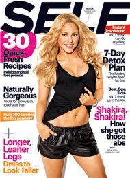 @SELF Magazine @Shakira Mebarak #dancecardio #plie