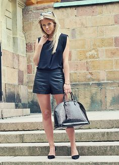 Black, even in summer time