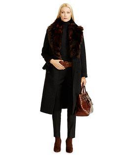 Wool-Cashmere Melaine Coat - Long Coats Coats - Ralph Lauren UK