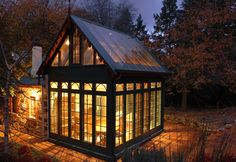 Wonderful Conservatory built onto the side of an old stone cottage//Pauline Hurren :: Architect :: South Australia
