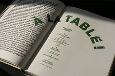 Ainsi cuisinaient les belles-sœurs / Edition on Editorial Design Served Editorial Layout, Editorial Design, Menu Design, Layout Design, Book Design, Cover Design, Design Design, Michel Tremblay, Magazine Design
