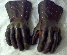 gauntlets :dress gloves extending above the wrist. (bernice fmm1b2)
