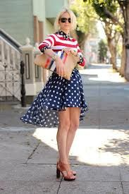 I love the skirt!  I'd love the outfit if the top had different colored stripes.  The red and navy remind me too much of the 4th of July.  What about a yellow striped top and this skirt??  - Julie