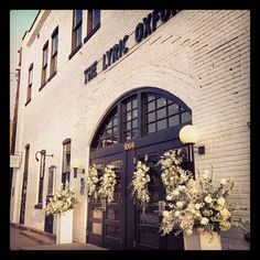 The Lyric Theater located in Oxford MS. Dream Reception location