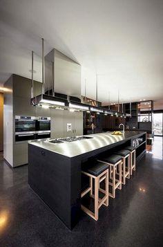 stunning modern dream kitchen design ideas and decor 2 < Home Design Ideas Home Design, Luxury Kitchen Design, Luxury Kitchens, Cool Kitchens, Interior Design, Luxury Interior, Luxury Furniture, Modern Design, Tuscan Kitchens