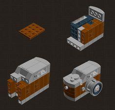 Build Yourself a Leica M9 P Hermes with 114 LEGO Pieces leicam9legohermes
