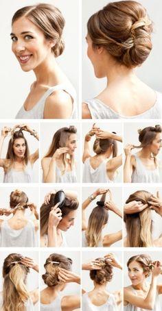 Easy DIY Hairstyles for Medium and Long Hair1 (38)
