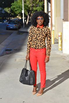 red and cheetah!!