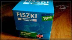 """""""Fiszki. To proste! Angielski w domu"""" od księgarni Bonito.pl , recenzja: http://magicznyswiatksiazki.pl/?p=21591"""