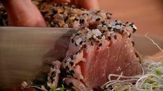 Como fazer atum selado - Receitas da Carolina - GNT