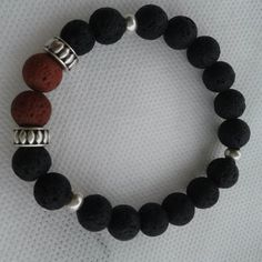 Men's Bracelet, Black-red Beads Bracelet, men's jewelry, Couple Gift, metal element bracelet, gift for him, Cuff Bracelets, elastic bracelet Bracelets For Men, Fashion Bracelets, Cuff Bracelets, Beaded Cuff Bracelet, Bracelet Sizes, Couple Gifts, Men's Jewelry, Gifts For Him, Wedding Bands