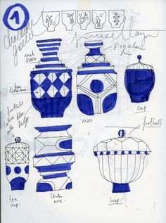 Jaime Hayón for Kutani Choemon - Design Milk Artist Journal, Artist Sketchbook, Sketchbook Ideas, Sketchbook Inspiration, Employer Branding, Clay Design, Design Art, Advanced Ceramics, Ceramic Tableware