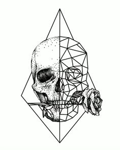 Design Illustrations Skull with a rose Doodle Art Design doodle art illustrations Rose Skull Cool Skull Drawings, Dark Art Drawings, Pencil Art Drawings, Art Drawings Sketches, Drawing Art, Tattoo Sketches, Crazy Drawings, Galaxy Drawings, Science Drawing