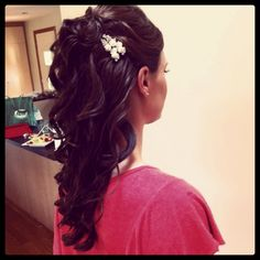 Half Up Half Down Bridal Wedding Hair