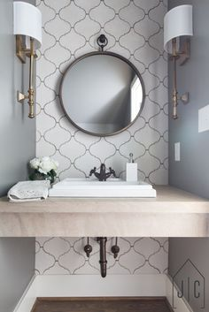 Shop The Look ~ Powder Room with Impact