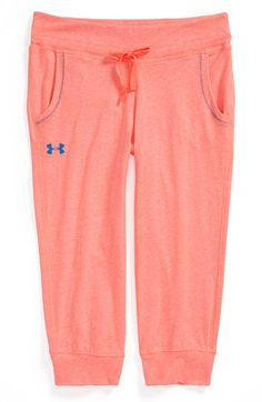 Under Armour Capri Sweatpants (Big Girls) Under Armour Outfits, Nike Under Armour, Nike Outfits, Sport Outfits, Under Armer, Under Armour Headbands, Under Armour Sweatpants, Armor Clothing, Athletic Wear