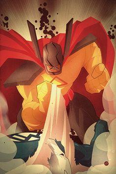 Marvel POP 01 by Juan Doe