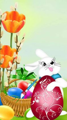 💕 Happy Easter Wallpaper, Ostern Wallpaper, Cross Stitch Games, Happy Easter Quotes, Beginning Of Spring, Easter Printables, Easter Eggs, Art For Kids, Christmas Bulbs