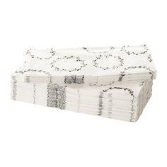 IKEA - VINTER 2016, Tovagliolo di carta, I tovaglioli hanno una buona capacità di assorbimento perché sono costituiti da tre strati di carta.