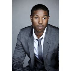 Michael B. Jordan ❤ liked on Polyvore featuring pictures