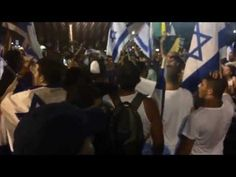 """Israelis in Tel Aviv 26.7.2014: """"There's no school tomorrow,there's no children left in Gaza! Oleh!"""" - YouTube"""