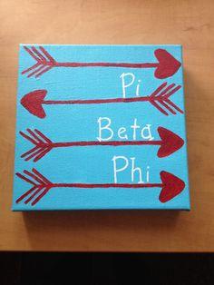Pi Beta Phi crafting