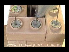 Construindo com Tijolos Ecológicos - 10 Pilares - YouTube