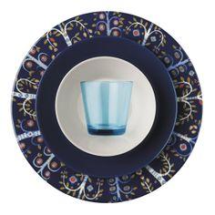 "Taika Plate 11.75"" Blue"