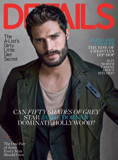 Jamie Dornan, Appears In Sexy Details Photos, Talks Fifty Shades Of Grey And...Fear Of Murder?!