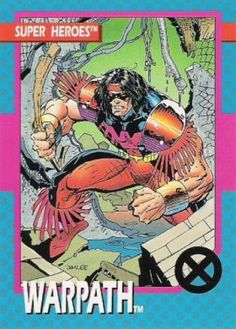 Image result for warpath x-force 90's