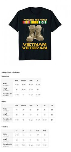 Mens Vietnam War | Vietnam Veteran T shirt Gift | Us Veterans Day Medium Black