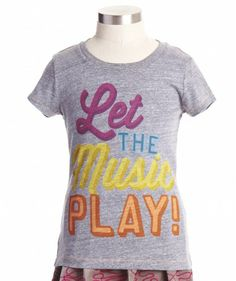 Let The Music Play Tee - Tops & Tees - Shop - girls | Peek Kids Clothing