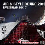 LIVESTREAM: AIR & STYLE BEIJING 2013