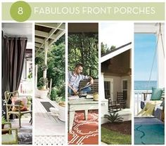 Eye Candy: 8 Fabulous Front Porches