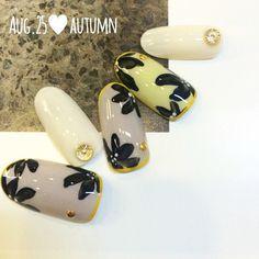 Autumn nailart