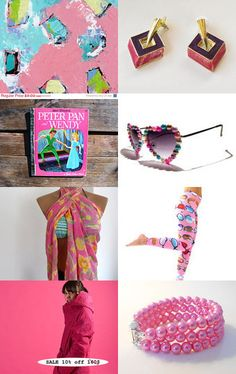 Pink Sunday ! by riagr on Etsy--Pinned with TreasuryPin.com