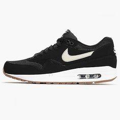 Nike Air Max 1 Essential Mens 537383-026 Black Bone White Running Shoes Size 8.5