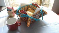 Cestinha de Chá, para pães