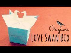 Como hacer una caja con una pareja de cisnes | Origami Paso a Paso - Figuras de origami (Papiroflexia) fáciles de hacer