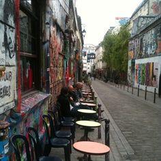 Rue Dénoyez, Paris 20ème