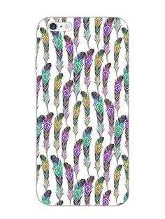 BOHO Pattern - Feathers - Designer Mobile Phone Case Cover for Apple iPhone 6 Plus