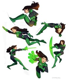 Totally thought this was Shego at first.