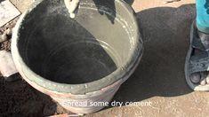 Story Of Concrete Flower Pot