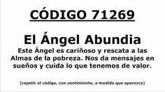 Meditacion Código Sagrado para conectar con El Ángel Abundia (Abundancia): 71269 - YouTube