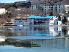 Boathouse, Newfoundland, Sunday, Easter, Mansions, House Styles, Beautiful, Home Decor, Landscape Rake