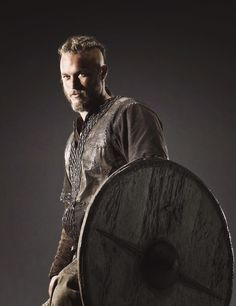 Travis Fimmel as Ragnar Lodbrok on The History Channel series The Vikings