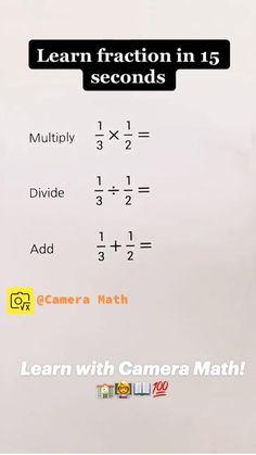Cool Math Tricks, Mental Math Tricks, Maths Tricks, Math Hacks, Life Hacks For School, School Study Tips, School Tips, Math Strategies, Math Resources