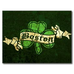 >>>Cheap Price Guarantee          	Boston Shamrock Vintage Style Postcards           	Boston Shamrock Vintage Style Postcards today price drop and special promotion. Get The best buyHow to          	Boston Shamrock Vintage Style Postcards Review from Associated Store with this Deal...Cleck Hot Deals >>> http://www.zazzle.com/boston_shamrock_vintage_style_postcards-239236237891403793?rf=238627982471231924&zbar=1&tc=terrest